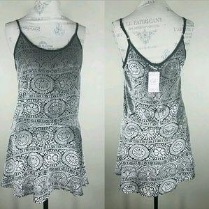 Chelsea & Violet Anthropologie Velvet Slip Dress